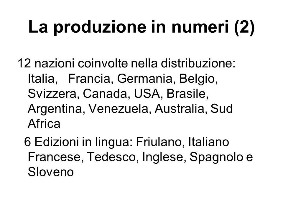 La produzione in numeri (2)