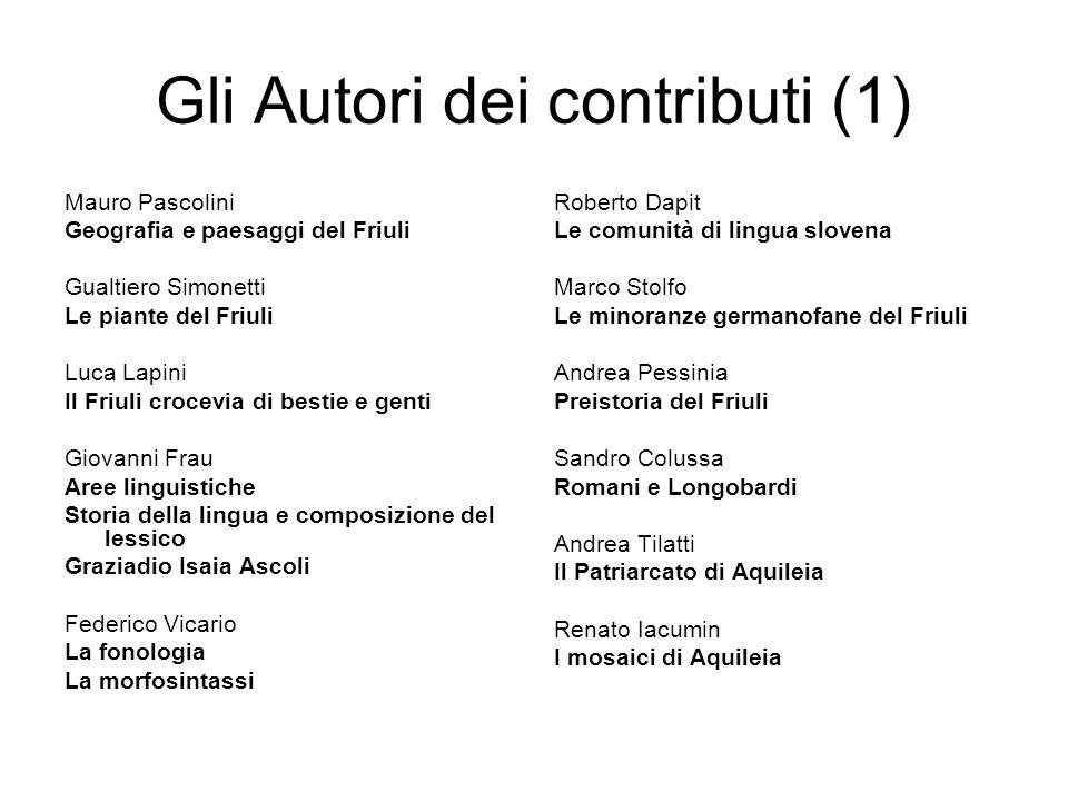 Gli Autori dei contributi (1)