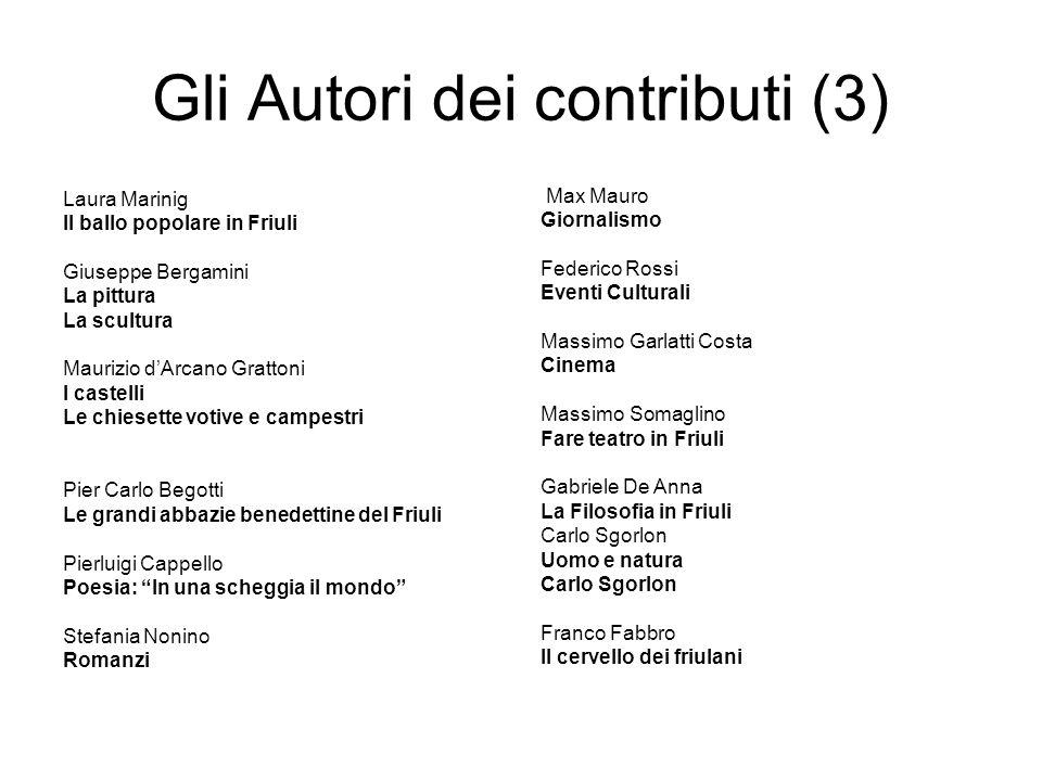Gli Autori dei contributi (3)