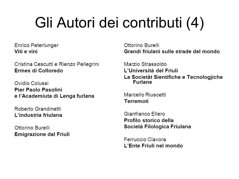 Gli Autori dei contributi (4)