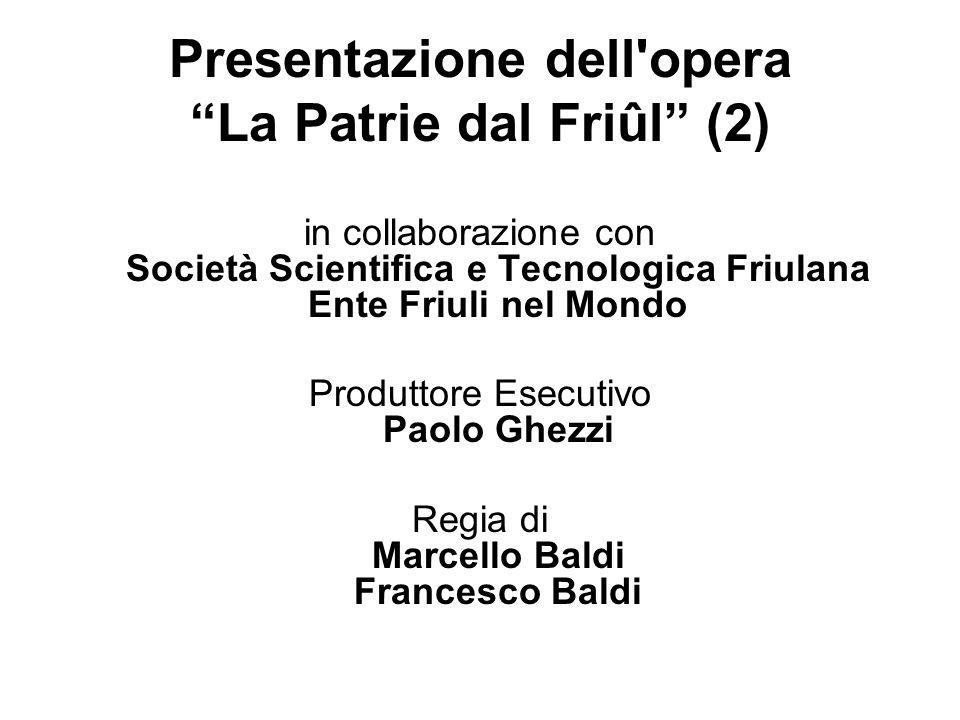 Presentazione dell opera La Patrie dal Friûl (2)