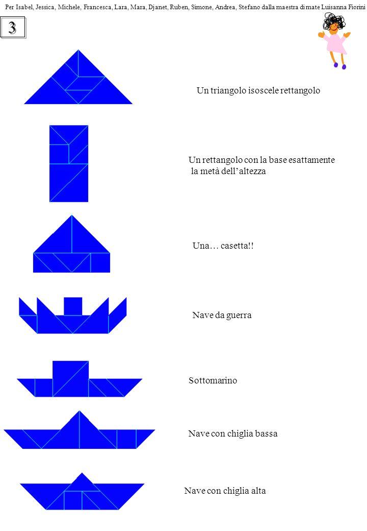3 Un triangolo isoscele rettangolo