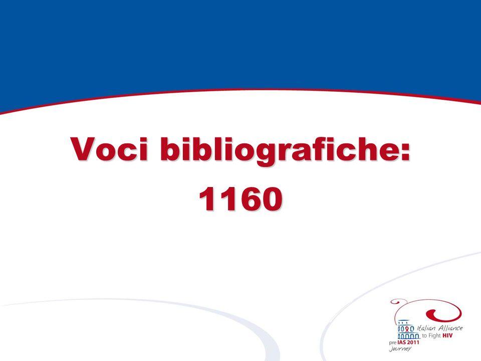 Voci bibliografiche: 1160