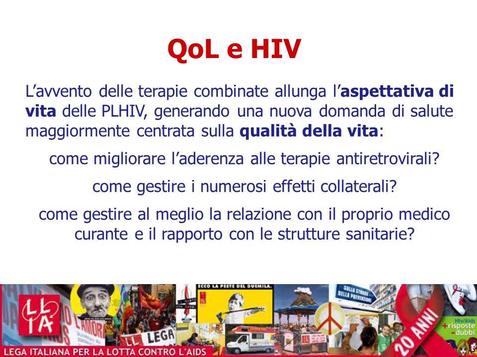 QoL e HIV