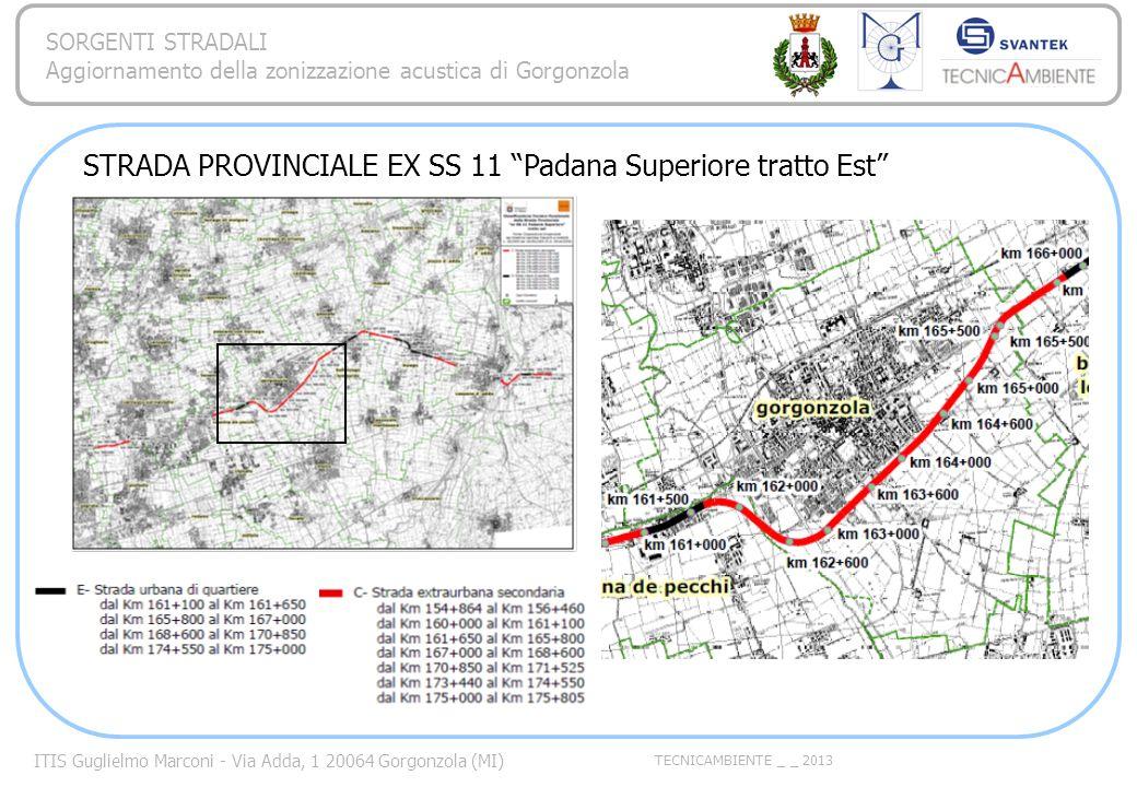 STRADA PROVINCIALE EX SS 11 Padana Superiore tratto Est