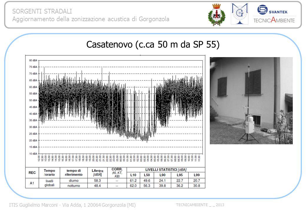 Casatenovo (c.ca 50 m da SP 55)