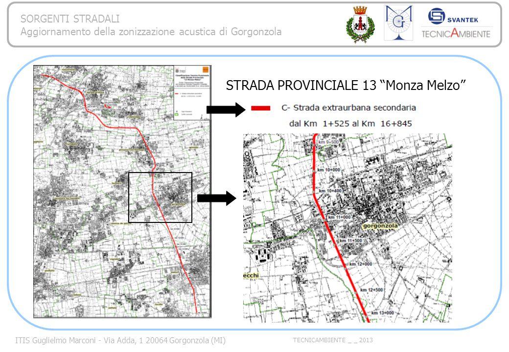 STRADA PROVINCIALE 13 Monza Melzo