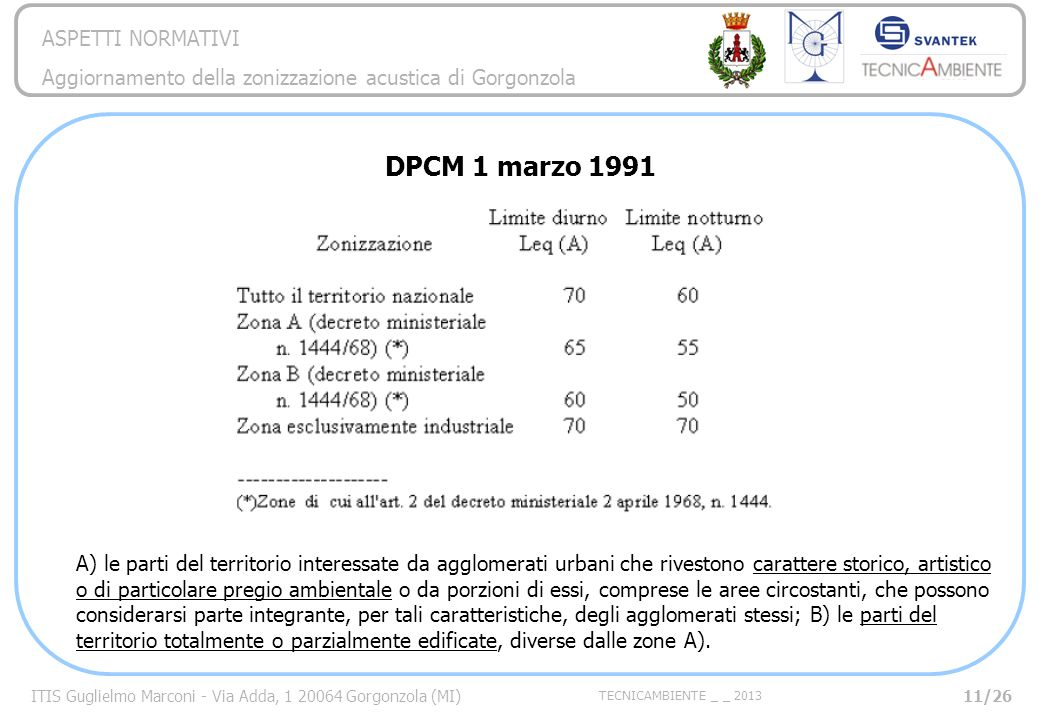DPCM 1 marzo 1991