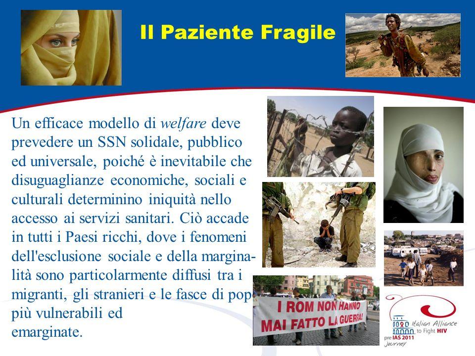 Il Paziente Fragile Un efficace modello di welfare deve