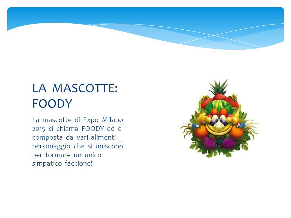 LA MASCOTTE: FOODY