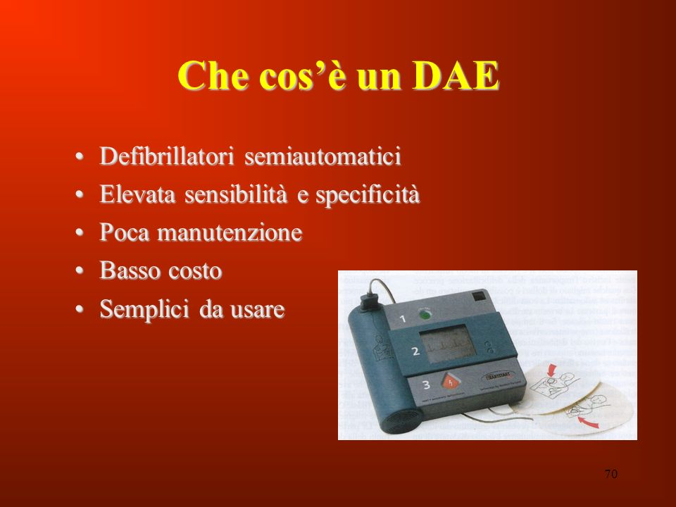 Che cos'è un DAE Defibrillatori semiautomatici