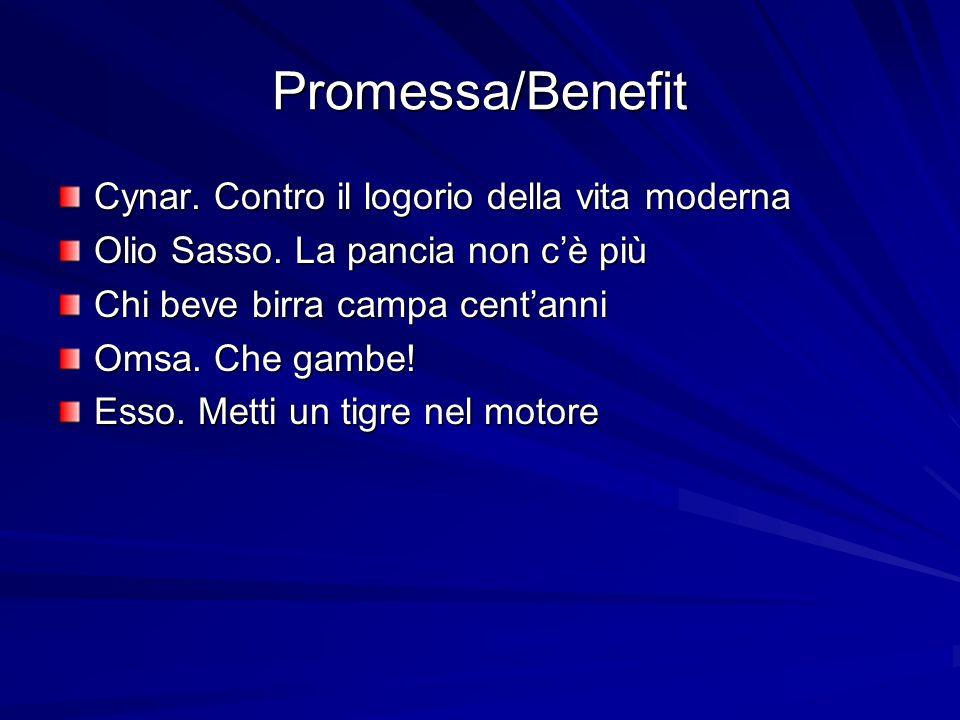 Promessa/Benefit Cynar. Contro il logorio della vita moderna