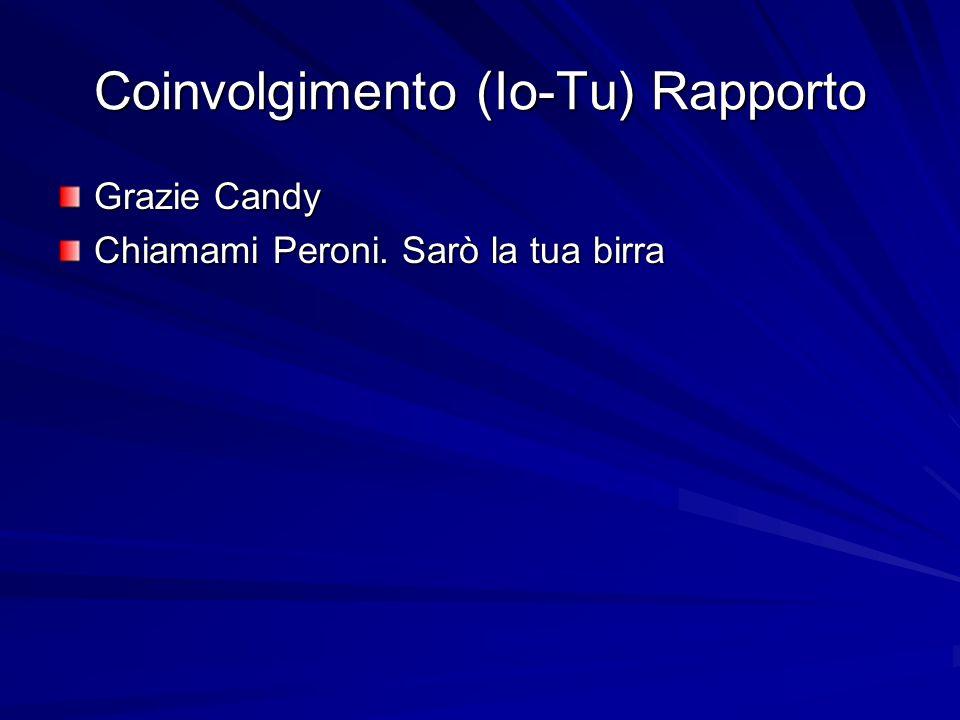 Coinvolgimento (Io-Tu) Rapporto
