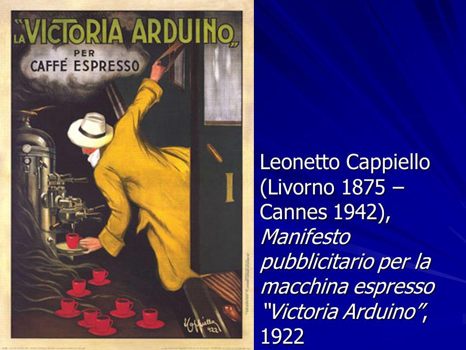 Leonetto Cappiello (Livorno 1875 – Cannes 1942), Manifesto pubblicitario per la macchina espresso Victoria Arduino , 1922
