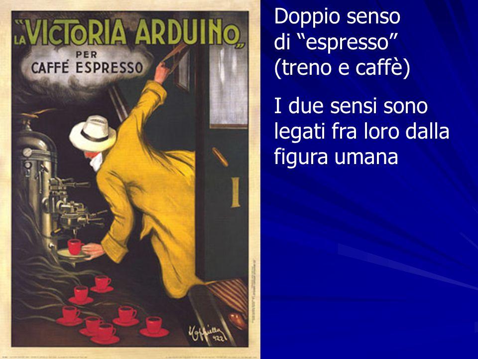 Doppio senso di espresso (treno e caffè)