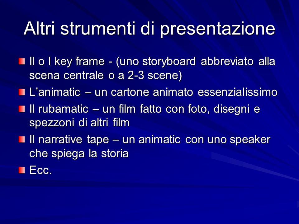 Altri strumenti di presentazione