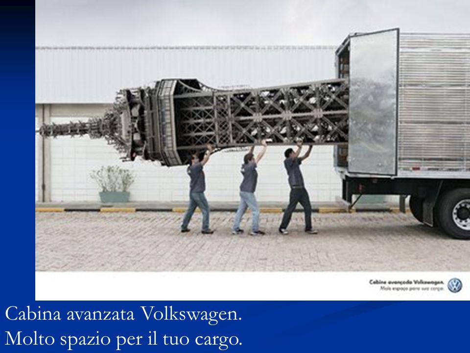 Cabina avanzata Volkswagen. Molto spazio per il tuo cargo.