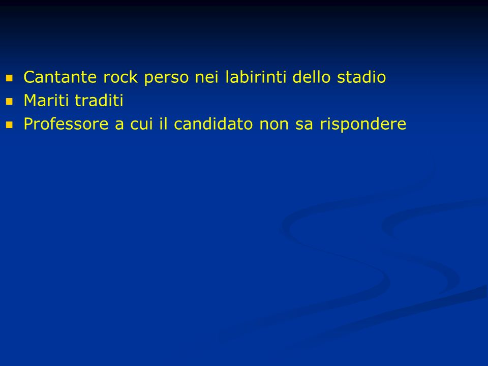 Cantante rock perso nei labirinti dello stadio