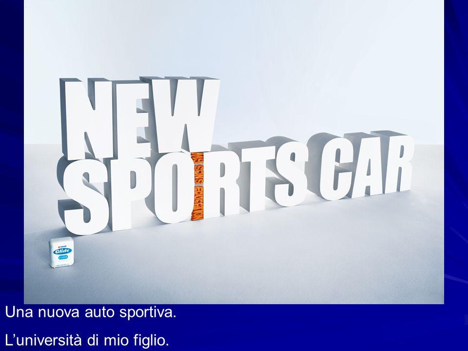 Una nuova auto sportiva.