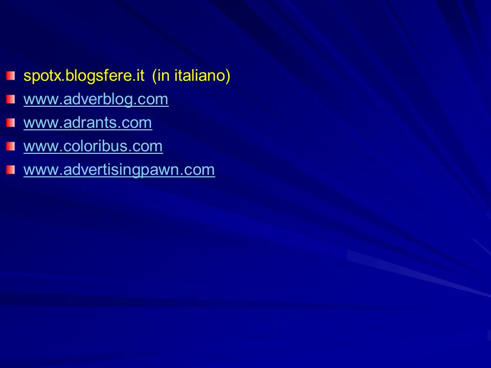spotx.blogsfere.it (in italiano)