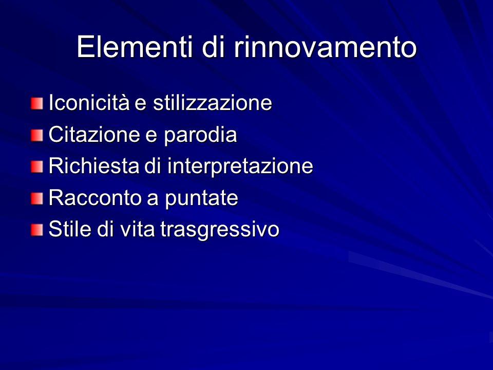 Elementi di rinnovamento