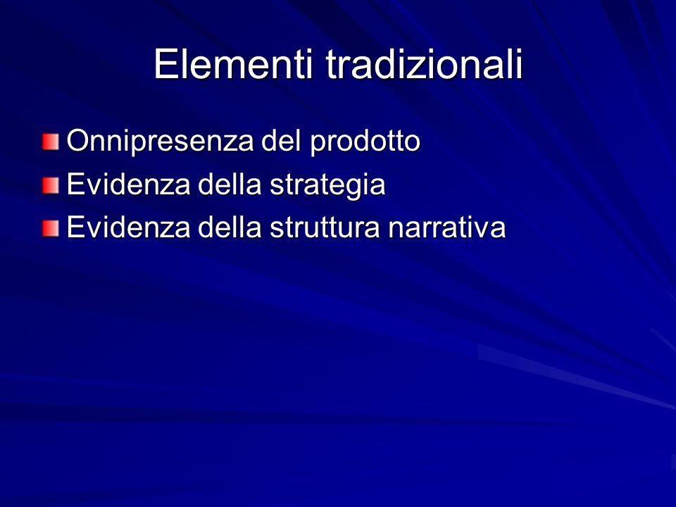 Elementi tradizionali