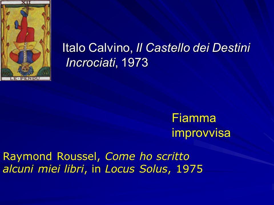 Italo Calvino, Il Castello dei Destini Incrociati, 1973