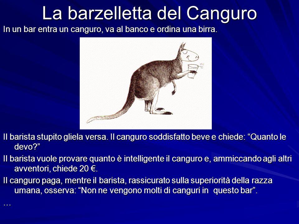 La barzelletta del Canguro