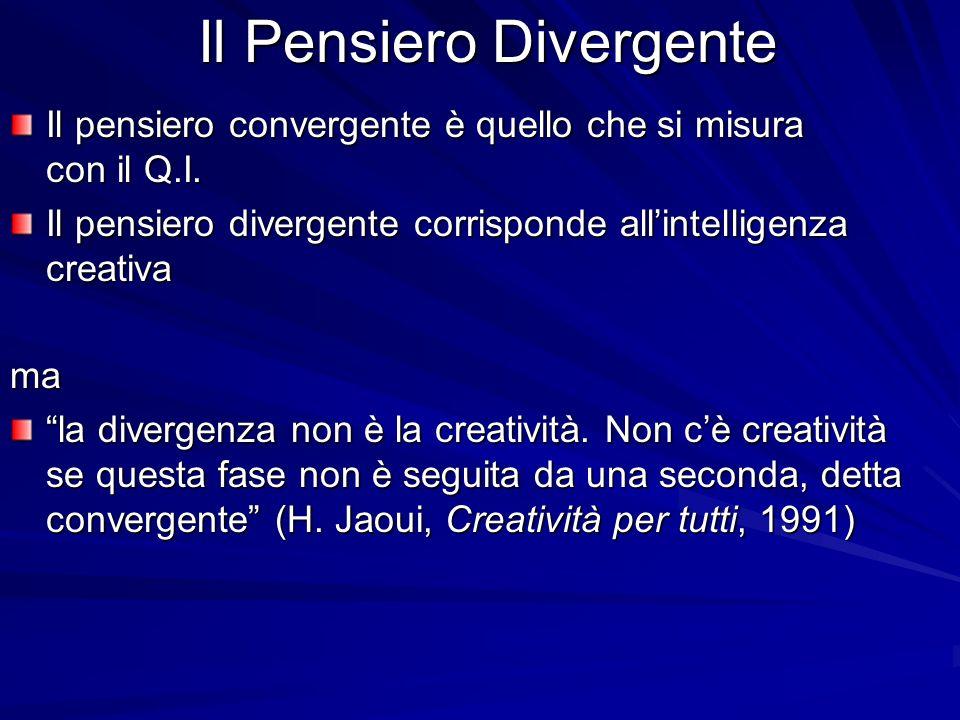Il Pensiero Divergente