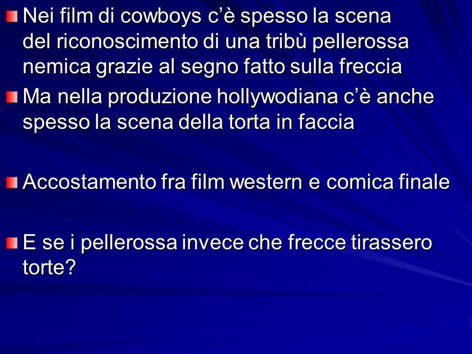 Nei film di cowboys c'è spesso la scena del riconoscimento di una tribù pellerossa nemica grazie al segno fatto sulla freccia