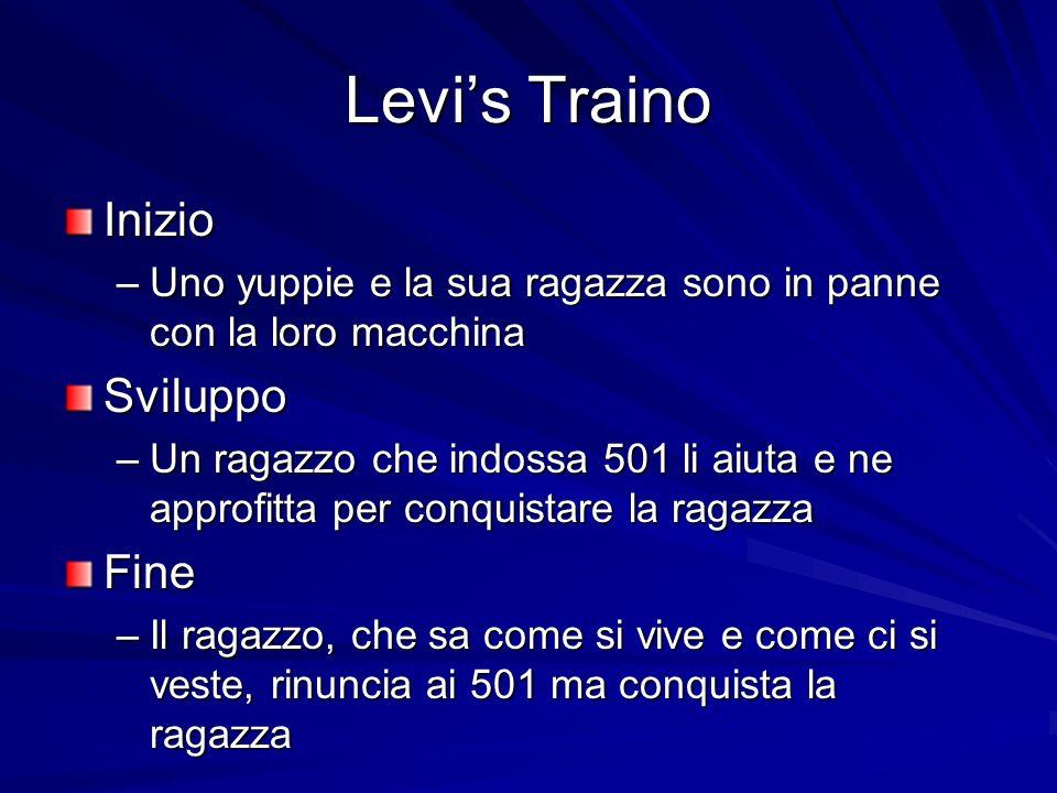 Levi's Traino Inizio Sviluppo Fine