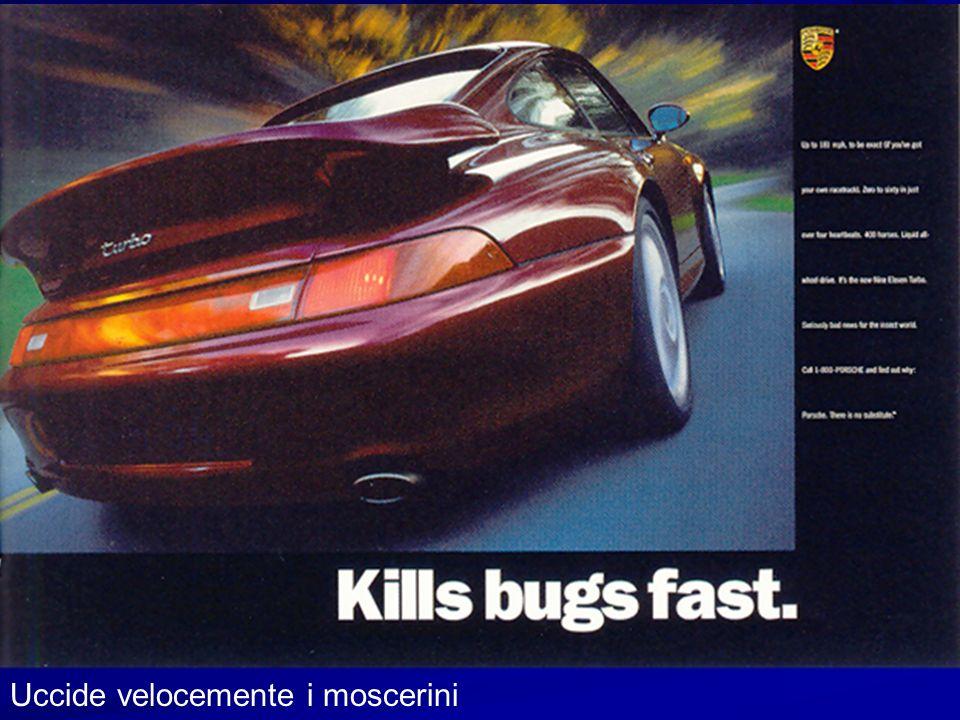 Uccide velocemente i moscerini