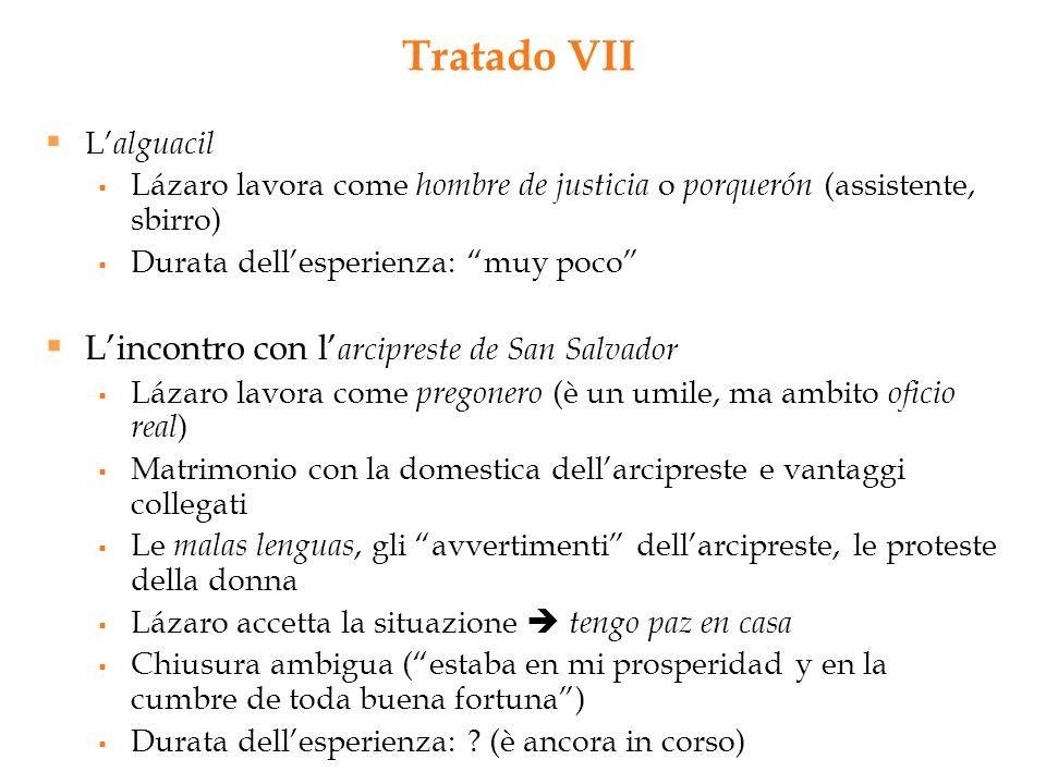 Tratado VII L'alguacil