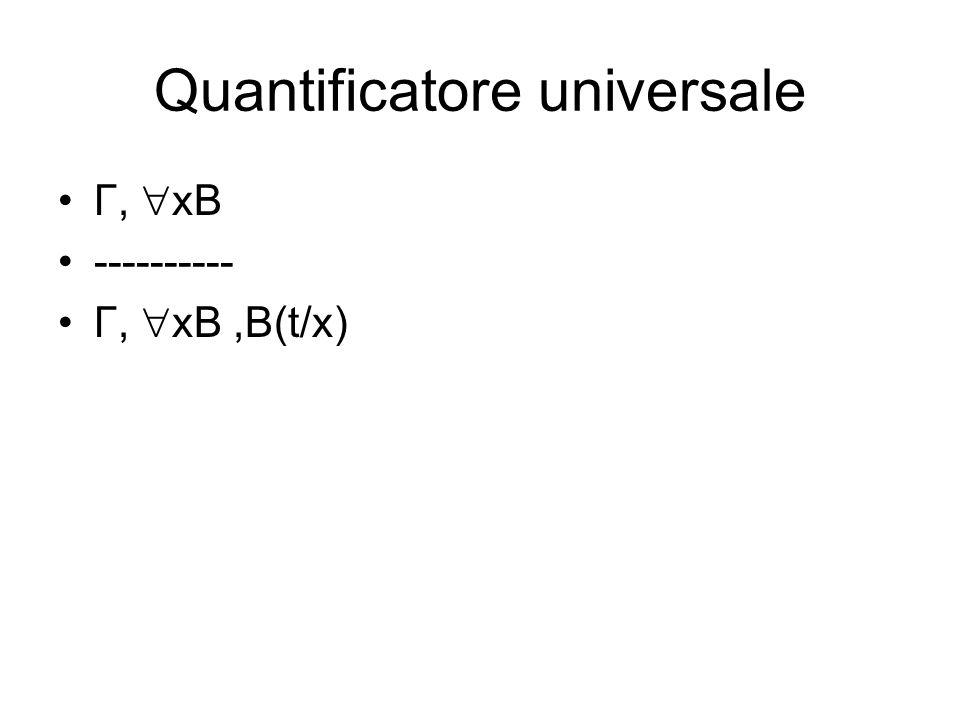 Quantificatore universale