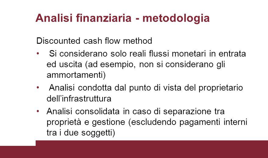 Analisi finanziaria - metodologia