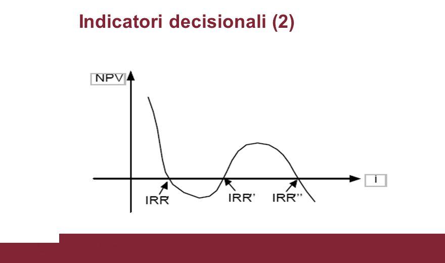 Indicatori decisionali (2)