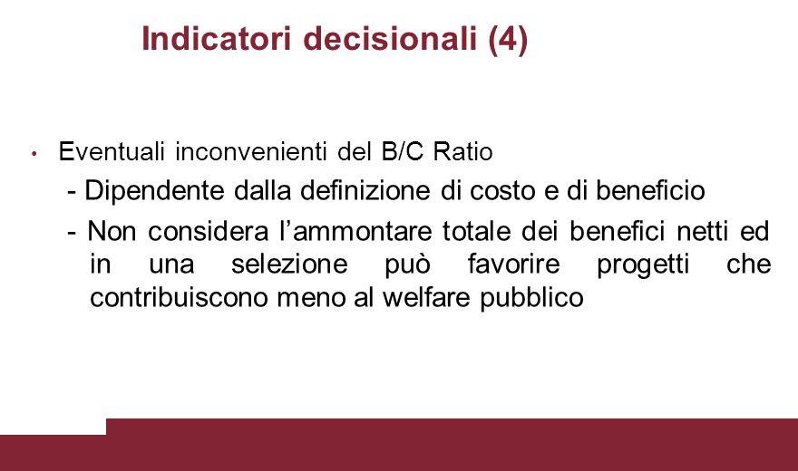 Indicatori decisionali (4)