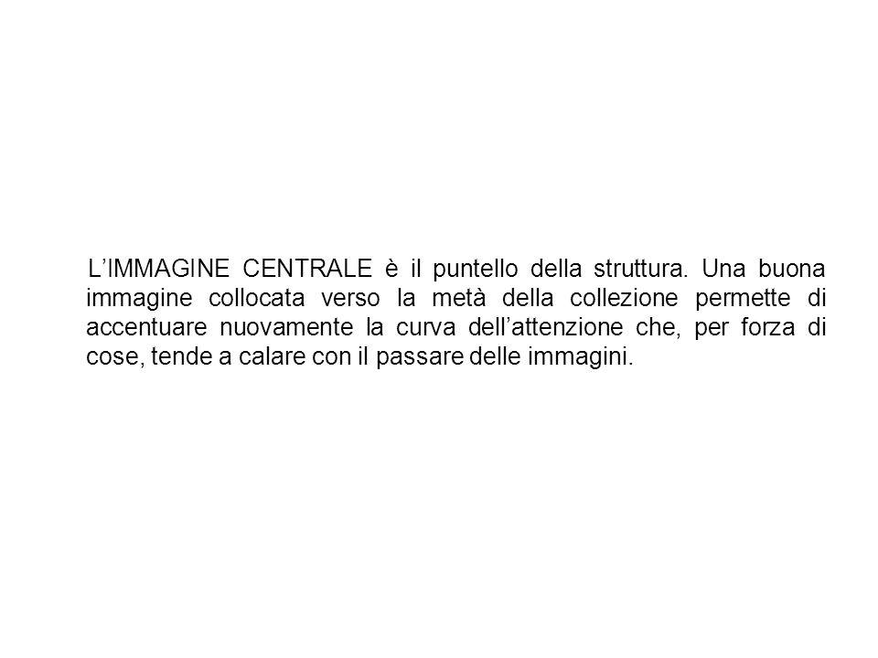 L'IMMAGINE CENTRALE è il puntello della struttura