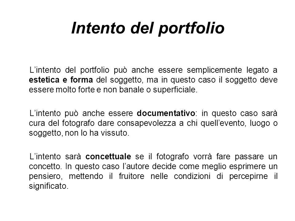 Intento del portfolio