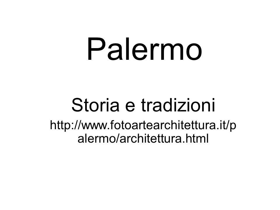 Palermo Storia e tradizioni