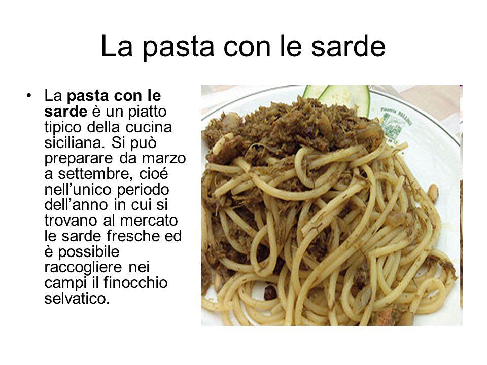 La pasta con le sarde