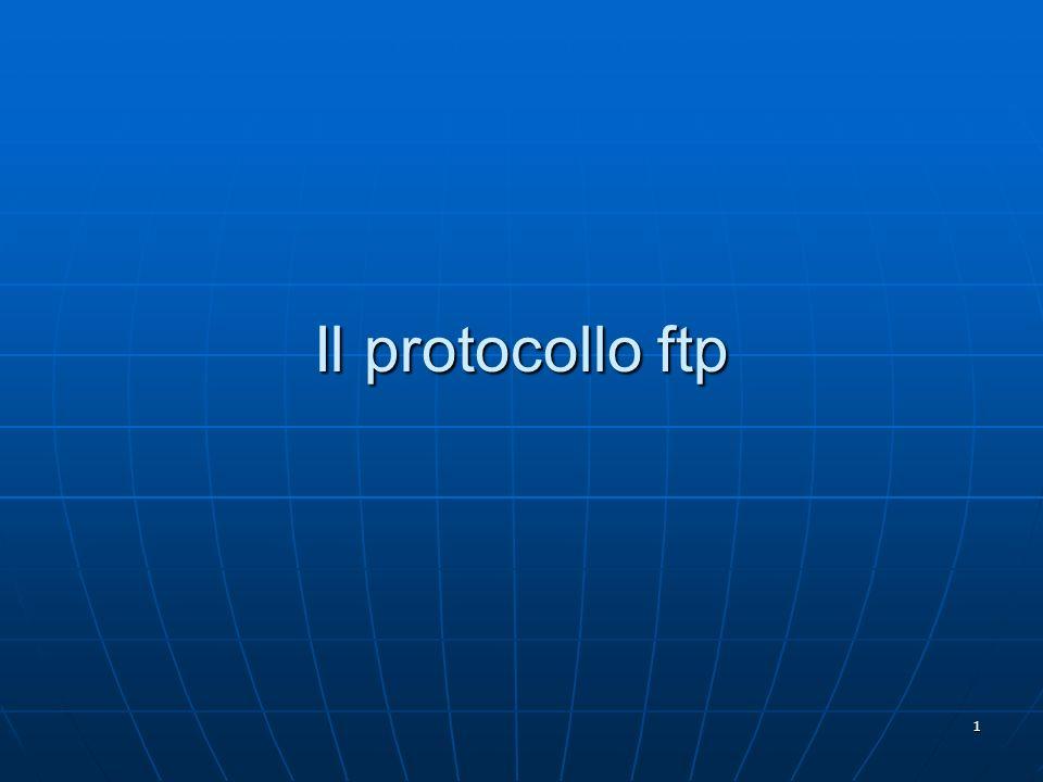 Il protocollo ftp
