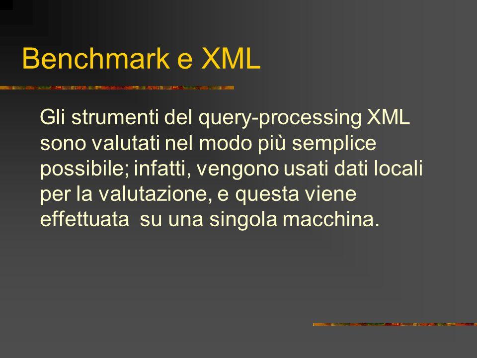 Benchmark e XML