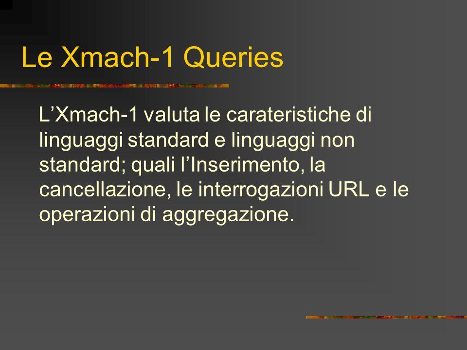 Le Xmach-1 Queries