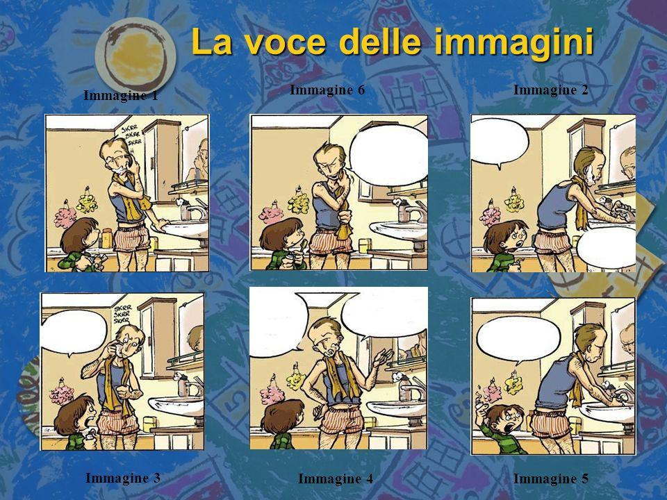 La voce delle immagini Immagine 6 Immagine 2 Immagine 1 Immagine 3