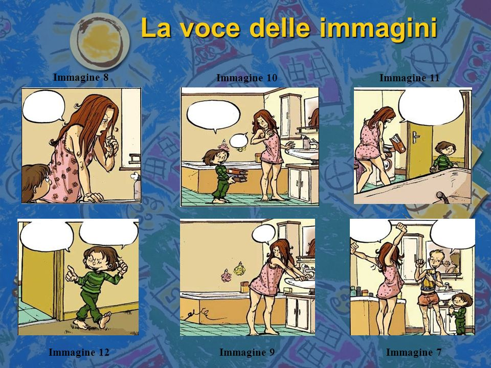 La voce delle immagini Immagine 8 Immagine 10 Immagine 11 Immagine 12
