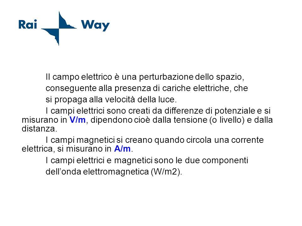 Concetto di Campo Elettrico Magnetico