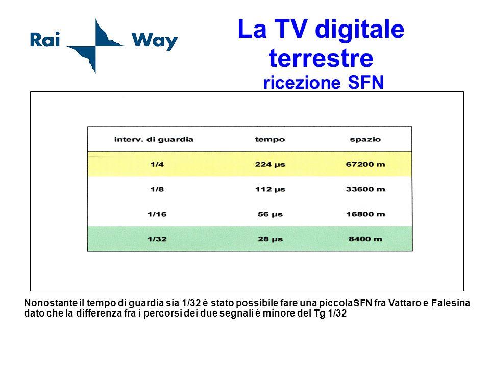 La TV digitale terrestre ricezione SFN