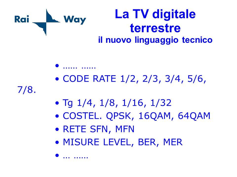 La TV digitale terrestre il nuovo linguaggio tecnico
