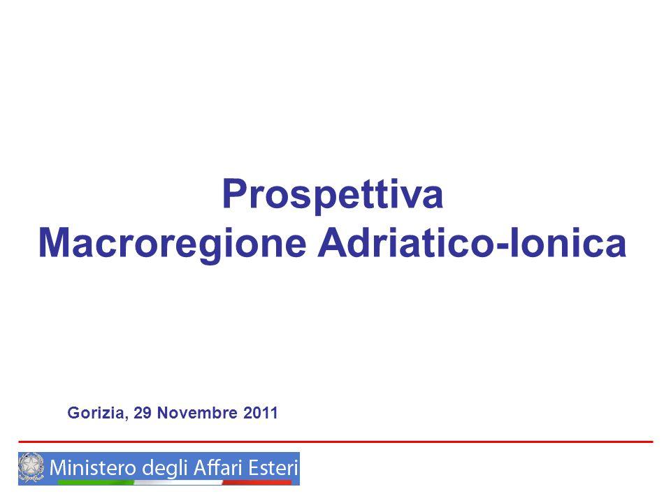 Prospettiva Macroregione Adriatico-Ionica